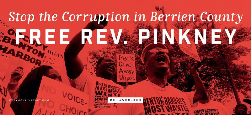 #FreeRevPinkney #FlintWaterCrisis #BlackLivesMatter